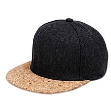 Fashion Cool Adjustable Snapback Hip Hop Dancing Golf Baseball Cap Soft Comfortable Unisex Flat Bill Outdoor Hat Color:Dark Gray