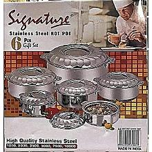Signature food server hot pots -6 pcs