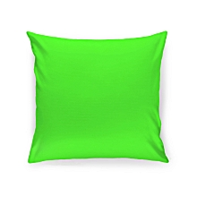 Neon Green Throw Pillow