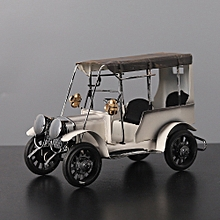 Jummoon Shop Vintage Old Tin Classic Car Home Decor Iron Metal Hand Crafts for Collect Gift