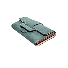 Ladies Trendy Purse Wallet -  Light Blue