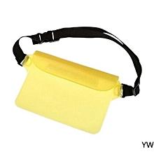Hequeen Summer Outdoor Swimming Waterproof Pockets Rafting Beach Waterproof Pockets PVC Waterproof Pockets