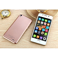 """Smartphone Dual SIM Dual Standby Mobile Cell SC6825C Quad Core 2G 5.0"""" TN(854*480) LCD 1400MA Android-pink"""
