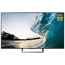 """65X8500E - 65"""" Smart UHD 4K LED TV - Android - Black."""
