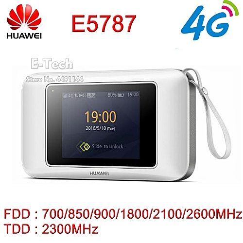 10pcs/lot Huawei E5787 E5787Ph-67a LTE Cat6 300Mbps Mobile WiFi Hotspot  3000mAh Battery LTE 4G Portable Router