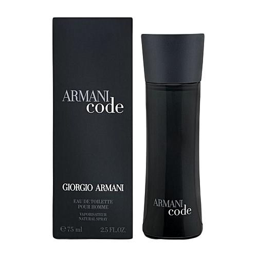 Giorgio Armani Armani Code For Men Edt 75ml At Best Price Jumia Kenya