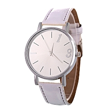Africanmall store Women Quartz Analog Wrist Dial Delicate Watch Luxury Watches -White