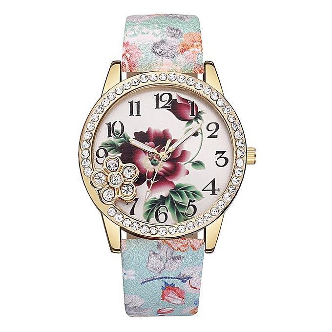 Buy Generic Dustproof Quartz Wrist Watch Precise Girls Boys Man