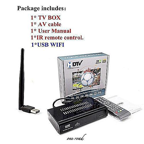 Latest Tv Box Hd M2 Fta Dvb T2 Ground Receiver Dvb-T2 Mpeg-2/4 H 264  Supports Youtube Hdmi Stb Tv Tuner +