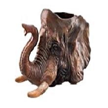 Safari Ceramic Mug- Elephant