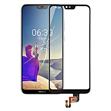 Touch Panel for Nokia X6 (2018)(Black)