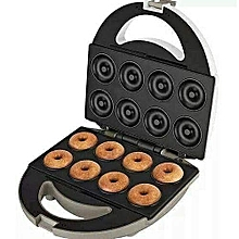 8 Pieces Donut Maker - White