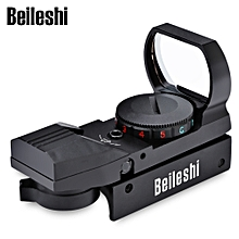 Hunting Holographic Reflex Red Green Dot Sight Scope - black