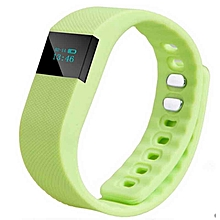 Smartband Fitness Tracker Bluetooth 4.0 Wristband Smart Pedometer Bracelet For IPhonefor Samsung  (Color:Green)