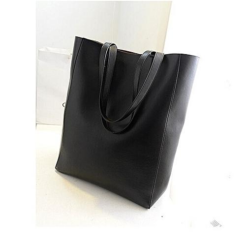 23f20881ded0 Generic PU Leather Handbag Women Shoulder Bags Tote Purse Messenger Hobo Bag