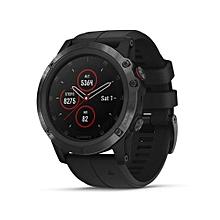 GARMIN Fenix5x Plus-end-pvd-b 51mm Sapphire Multisport GPS Watch Pulse Ox Heart Rate Smart Watch