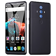 Generic 5.0 Inches Quad Core(4GB RAM+32GB ROM ) Smartphone Cell Phone For Android  Dual Sim Dual Stand-black