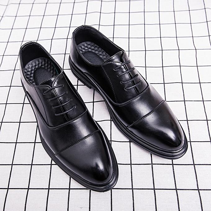 4bced7b9fccd8 EUR Size 38-44 Men Shoes Business Office Shoe Men Wedding Leather Shoes  Men s Oxfords