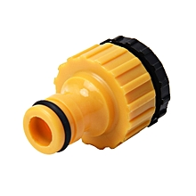 Universal Standard Faucet Hose Connector Quick Connector Washinghine Water Cannons and A Garden Lawn Sprinkler System Pipe Suit for 1/2inch and 3/4inch Pipe