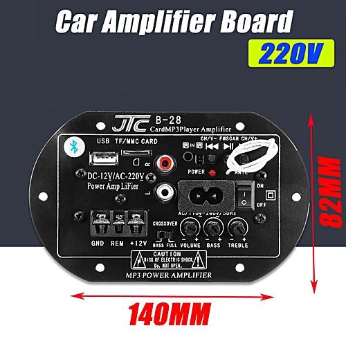 Generic 12/220V Car Bluetooth Subwoofer HiFi Bass Power