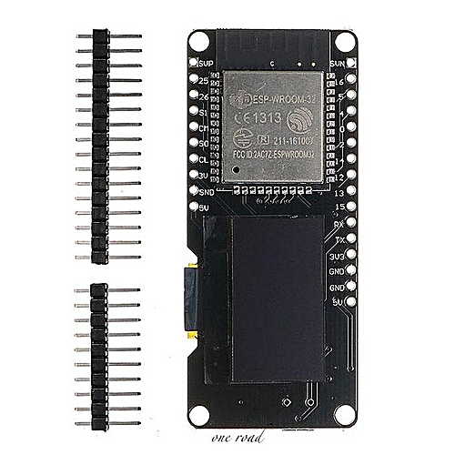 ESP32 OLED Module For Arduino WiFi+Bluetooth Dual With ESP8266 Expansion  Plate