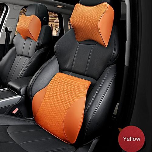 Generic Car Seat Headrest Pad Memory Foam Pillow Head Neck Rest