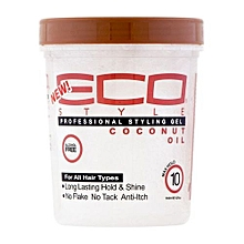 Professional Styling Gel Coconut Oil- 8oz