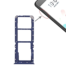 2 x SIM Card Tray + Micro SD Card Tray for OPPO A5(Blue)