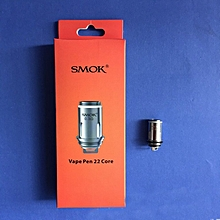 5Pcs Atomizer Head Coil Replacement For Smok Vape Pen 22 Core 0.15/0.25/0.3惟 silver