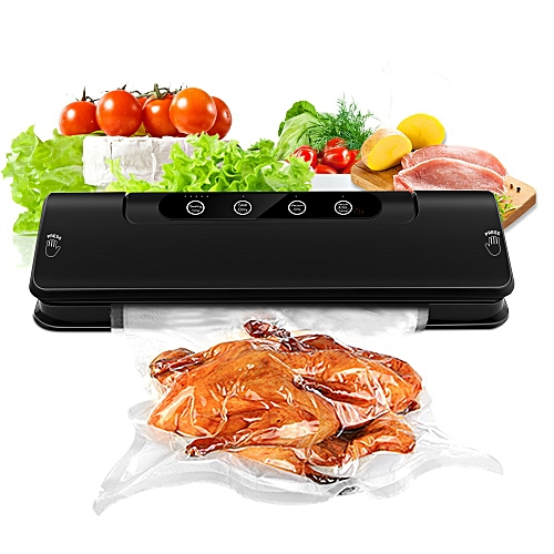 Household Vacuum Sealer Machine System with 15 Storage Bags 1 Hose Tube for Food Saver Preservation