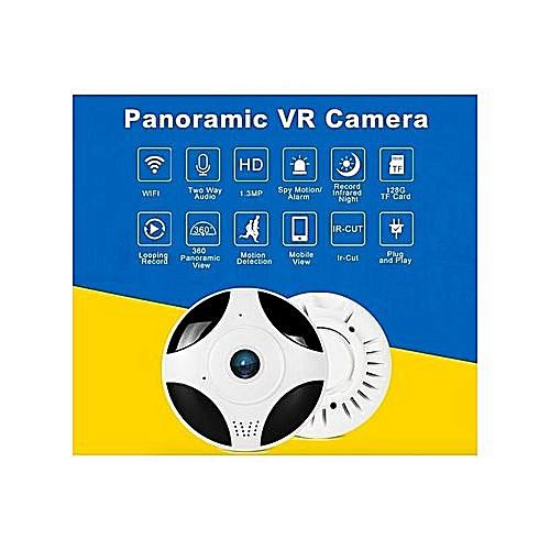 CCTV Smart Home Security Camera 960P VR Mini Hidden Ceiling FishEye 360  Degree Wireless Phone Android App Wifi Panoramic IP Camera