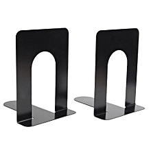 Metal Bookends 15*13*17 Cm - Black