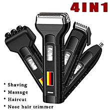AU 4 in 1 Rechargeable Cordless Electric Shaver Razor Hair Beard Clipper Trimmer