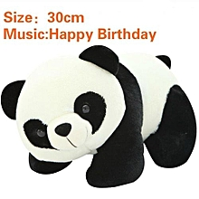 Music Sound Plush 30cm Panda Gift Toy(Color:First Pic)