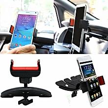 Universal Car CD Slot Mobile Phone GPS Sat Nav Stand Holder Mount Cradle NEW
