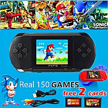 """2018 Handheld Game Console PXP3 Portable 2.8"""" 150 Free Retro Games 16 Bit TV OUT"""