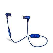 E25BT Wireless In-Ear Headphones Blue