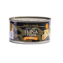 Light Tuna Chunk In Brine - 185g