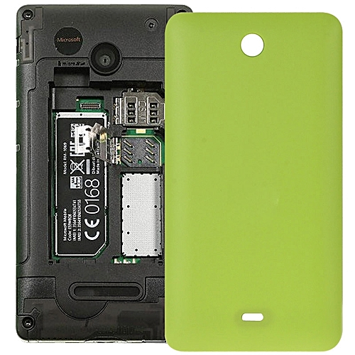 official photos 513af c664e iPartsBuy Frosted Battery Back Cover Replacement for Microsoft Lumia  430(Green)