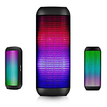 SAST T9 Colorful Fantasy LED Portable Bass Wireless Bluetooth Speaker With TF Card AUX Line in USB Disk