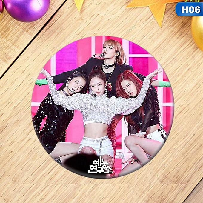 Korean KPOP BLACKPINK Album Brooch Pin Badge Accessories For Clothes Hat  Backpack Decoration