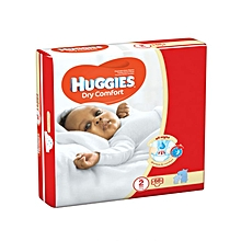 Dry Comfort Disposable Diapers Size:2 (0 -36 Months) - 68 Diapers