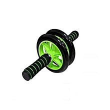 Rubber Roller Double Wheel - Black