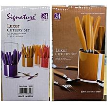 24 Pieces Cutlery Set