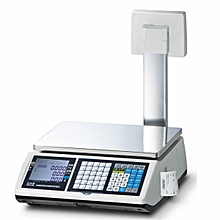 CAS CT100 Weighing Scale with Ticket/Receipt Printer.