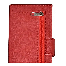 Classic Ladies Wallet-Red