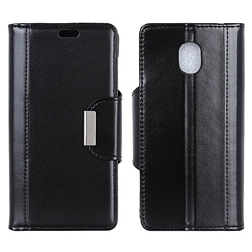 pretty nice c5bbd 99ee7 Galaxy J3 (2018) Case,Durable Slim Lightweight Wallet Flip Cover Stand  Credit Card Slots Iron Buckle Design Protective Case for Samsung Galaxy J3  ...
