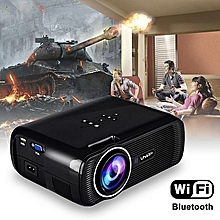 7000 Lumens Android 4.4 1080P HD LED Projector Home 3D Theater Cinema HDMI USB