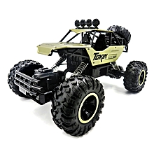 Flytec 6026 1/12 RC Car Vehicle 2.4G Metal Alloy Car Body Shell Rock Crawler Buggy Model Toy-Yellow