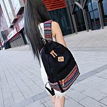 Boys Girls Rucksack Shoulder Bookbags School Bag Satchel Travel Canvas Backpack